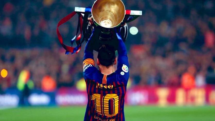 Barcelona superó a Levante y se coronó como campeón de La Liga