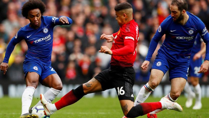 Manchester United y Chelsea no pasaron del empate