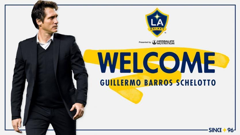 OFICIAL: Guillermo Barros Schelotto es el nuevo DT del L.A Galaxy