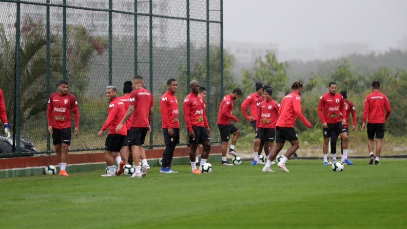 Perú entrenó en Río de Janeiro pensando en la final de la Copa América