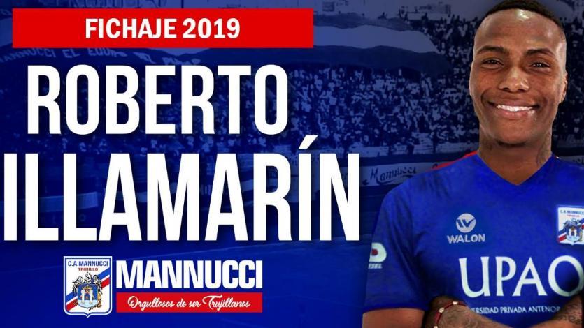 Roberto Villamarín es el tercer refuerzo de Carlos A. Mannucci