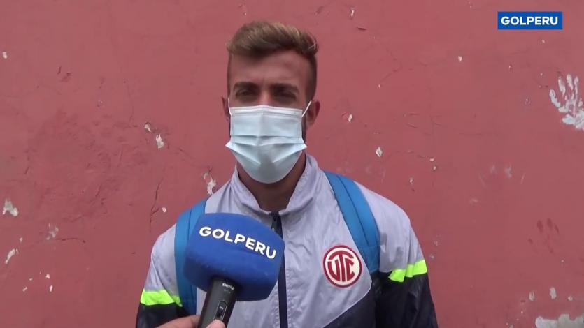 """Gaspar Gentile, jugador de UTC: """"Queremos un equipo fuerte y aguerrido"""" (VIDEO)"""
