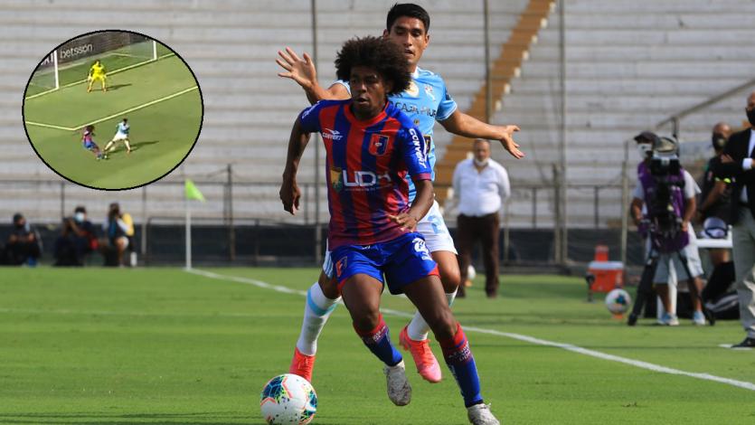 Liga1 Betsson: Julio Landauri estuvo muy cerca de marcar un golazo de rabona para Alianza Universidad (VIDEO)