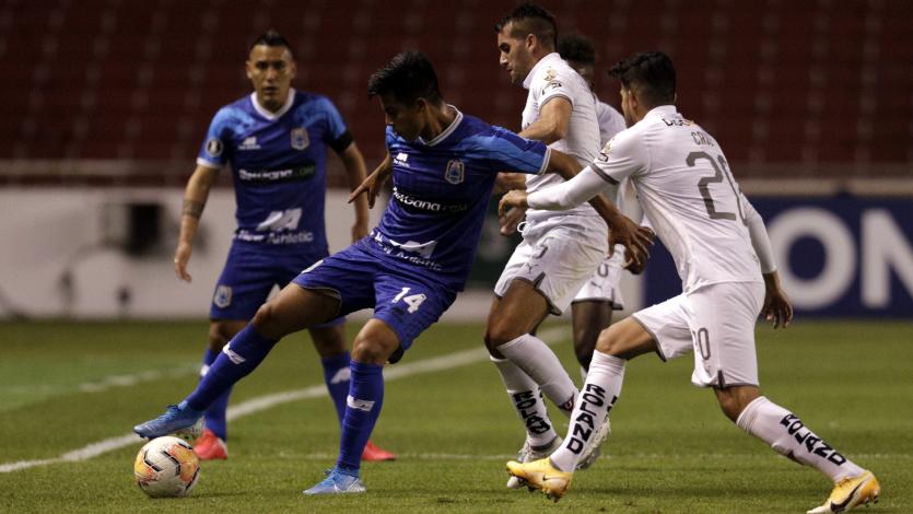 Copa Libertadores: LDU Quito goleó 4-0 a Deportivo Binacional