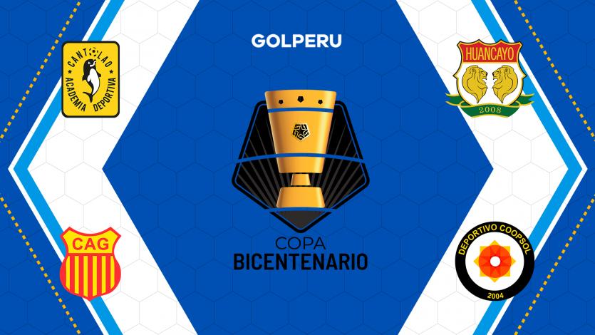 Copa Bicentenario: Conoce la fecha y hora de los partidos de vuelta de semifinales