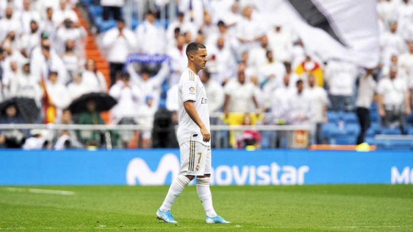 Eden Hazard debuta con una victoria en el Real Madrid