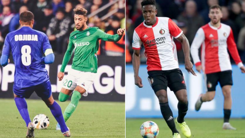 Europa League: Saint Étienne de Trauco quedó eliminado y Feyenoord de Tapia se complicó
