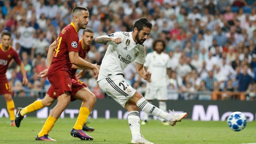 Champions League: Real Madrid se impuso ante la Roma