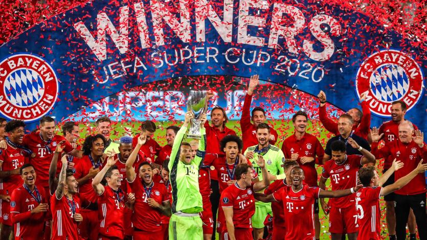 Bayern Múnich derrotó al Sevilla por 2 a 1 y se quedó con la Supercopa de Europa