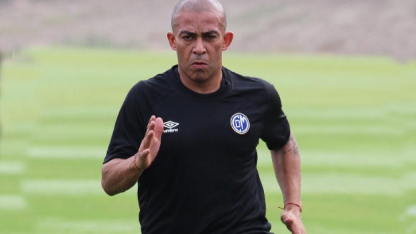 Arévalo Ríos sumó su primer entrenamiento con Deportivo Municipal