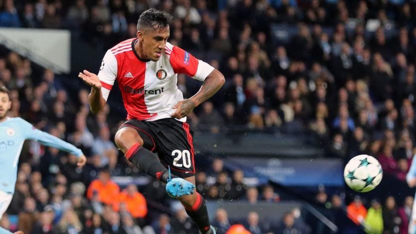 Feyenoord con Renato Tapia cayó frente al Manchester City