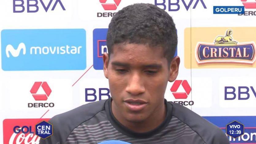 Fabricio Cabrera sobre la Sub 23: