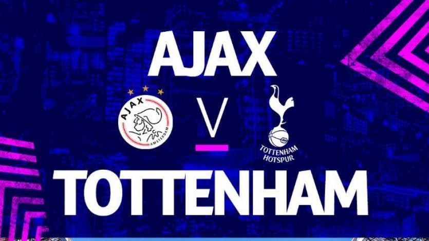 Champions League: Ajax y Totteham buscarán su pase a la final