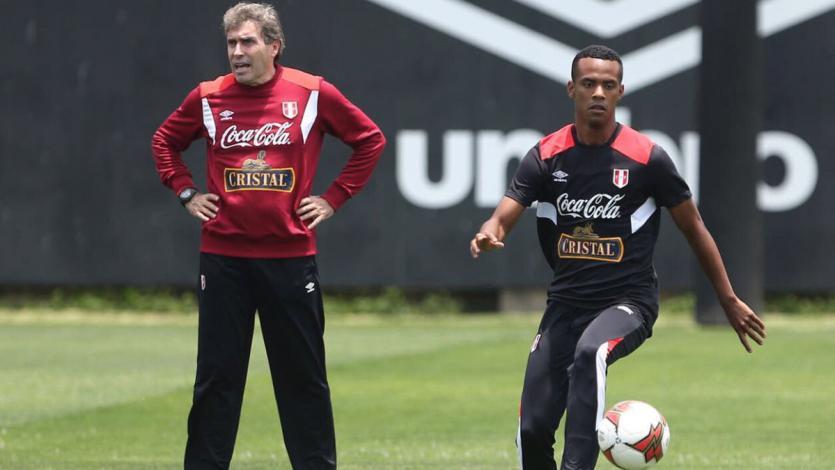 Selección peruana ya entrena en la Videna