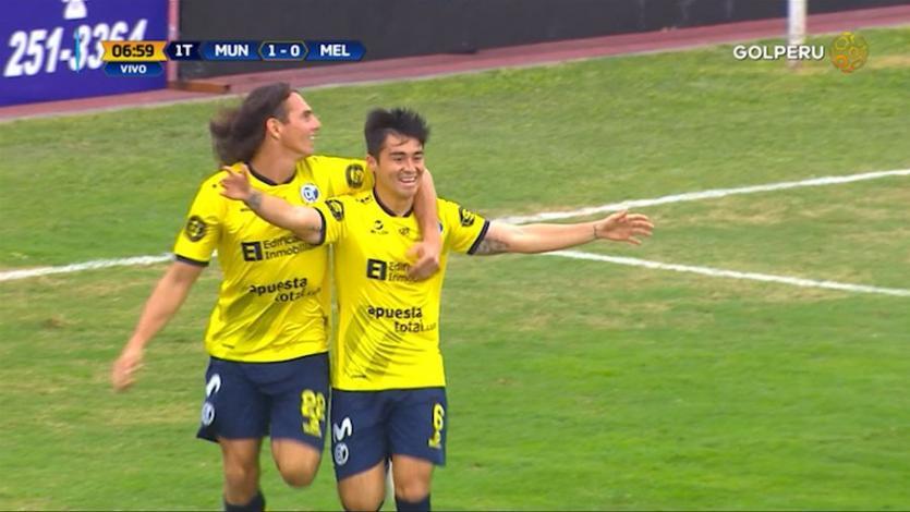 Deportivo Municipal derrotó 4 - 0  ante Melgar