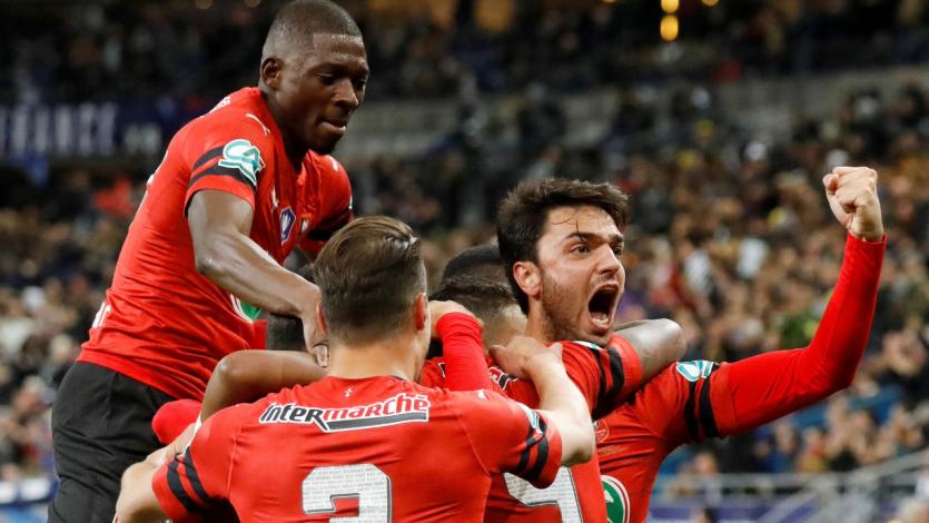 ¡Sorpresa! Rennes se llevó la Copa de Francia ante el PSG por penales