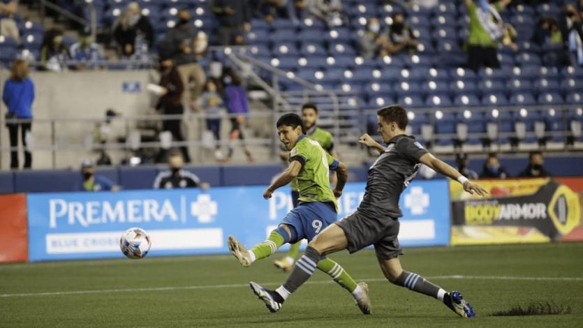 Raúl Ruidíaz comenzó una nueva temporada de la MLS anotando un doblete (VIDEO)