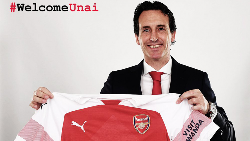 Premier League: Unai Emery es el nuevo entrenador del Arsenal