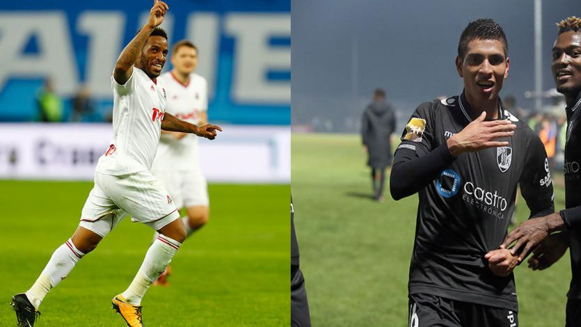 Jefferson Farfán y Paolo Hurtado verán acción en la Europa League