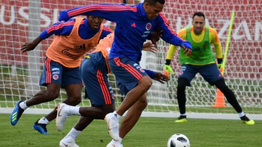 Colombia entrenó sin James ni Borja de cara al duelo con Inglaterra