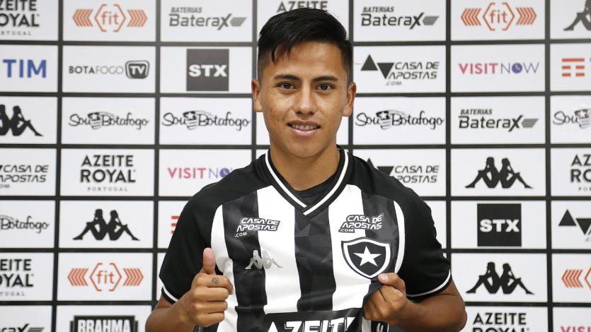 Alexander Lecaros fue presentado oficialmente en Botafogo y apuntó sobre Neymar y Messi (VIDEO)