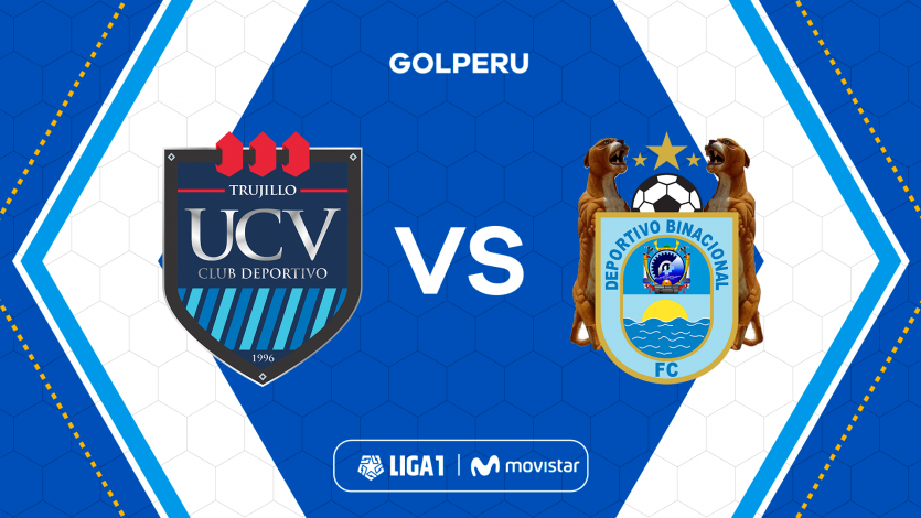 Liga1 Movistar: Binacional visita a César Vallejo por el Torneo Clausura