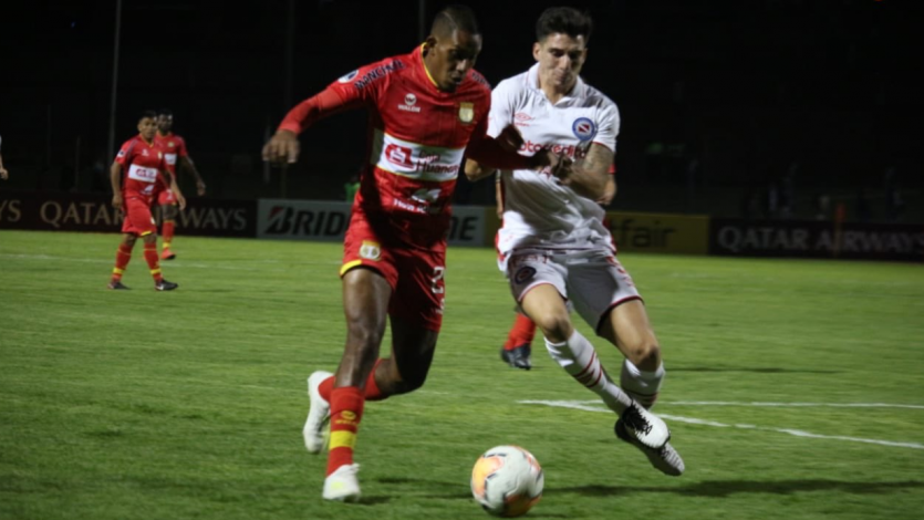 Copa Sudamericana: Sport Huancayo eliminó a Argentinos Juniors y avanzó a la segunda fase