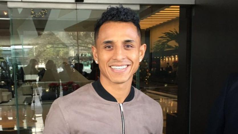 """Yotún: """"Estoy muy feliz de pertenecer a Cruz Azul, un equipo grande"""""""