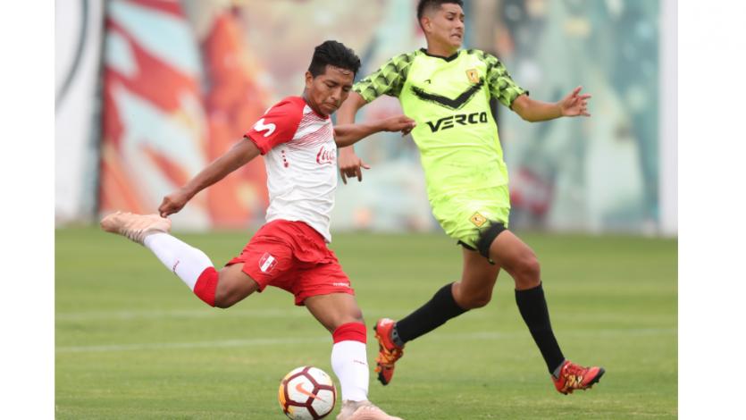 Sub-17: Perú se midió ante Academia Cantolao en duelos amistosos