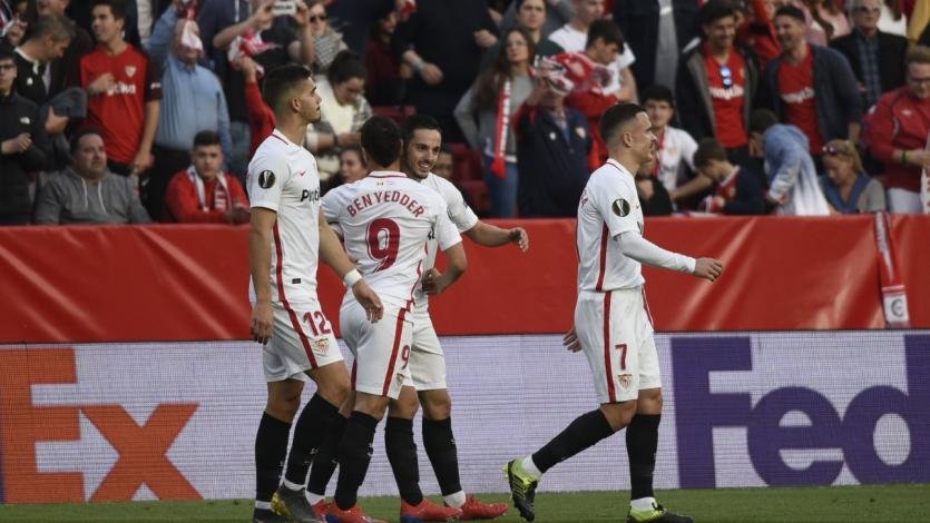 Europa League: Sevilla superó a Lazio y clasificó a los octavos de final