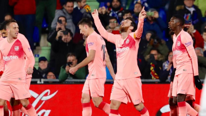 Barcelona sigue firme en lo más alto de la Liga