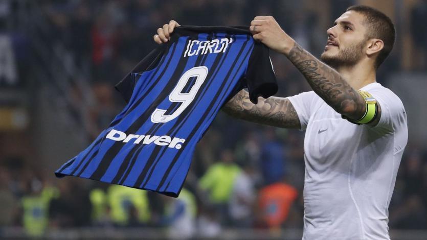 De la mano de Mauro Icardi, Inter se quedó con el clásico de Italia