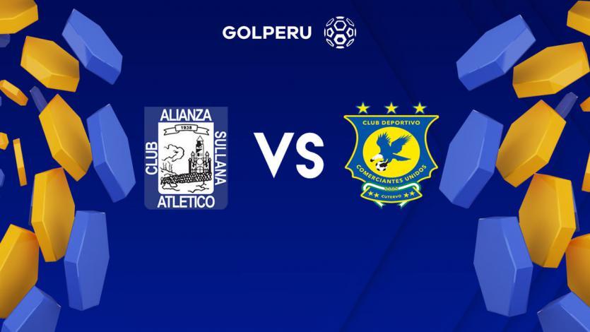 Alianza Atlético recibe a Comerciantes Unidos en Sullana