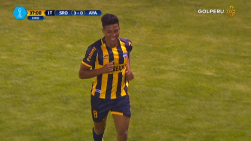 Sport Rosario goleó a Ayacucho FC en el Rosas Pampa