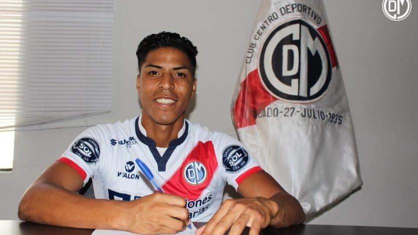 Carlos Uribe es nuevo jugador de Deportivo Municipal