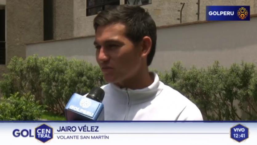 Jairo Vélez: