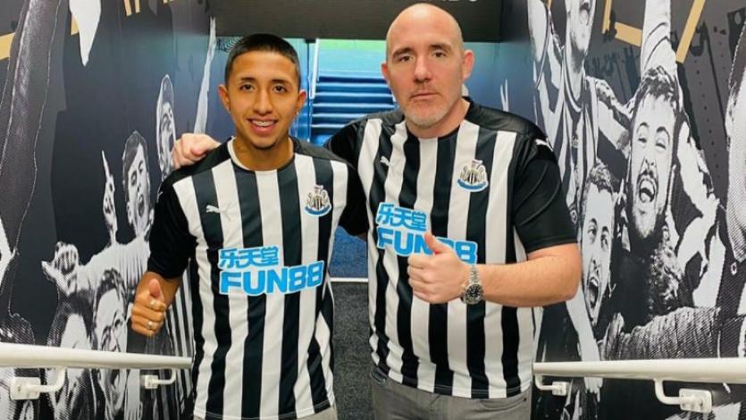 Rodrigo Vilca compartió un extenso mensaje tras su primera semana en Newcastle