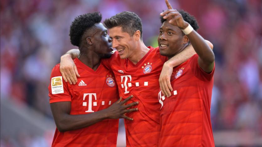 Bundesliga: Bayern Múnich goleó al Mainz y Borussia Dortmund fue sorprendido por Unión Berlín