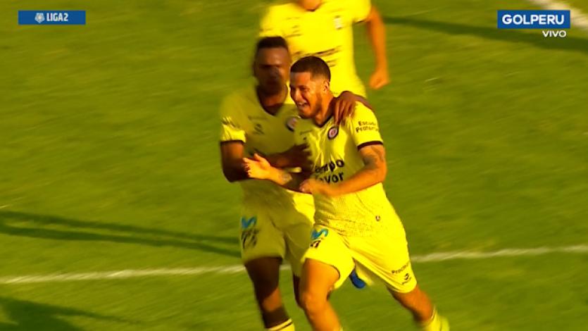 Liga2: Deportivo Coopsol se quedó con la victoria sobre el final ante Alianza Atlético (VIDEO)