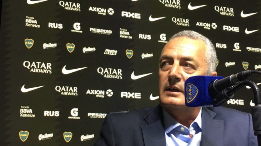 Gustavo Alfaro fue presentado oficialmente como técnico de Boca Juniors