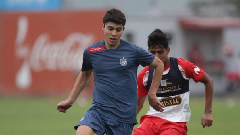 Reserva de San Martín jugó amistoso con la Selección Sub 20