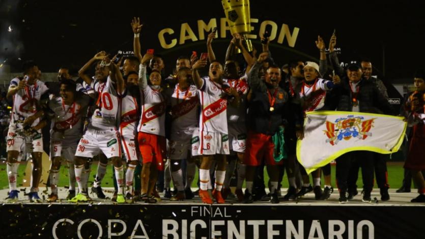 Copa Bicentenario: Atlético Grau superó en penales a Sport Huancayo y se coronó campeón