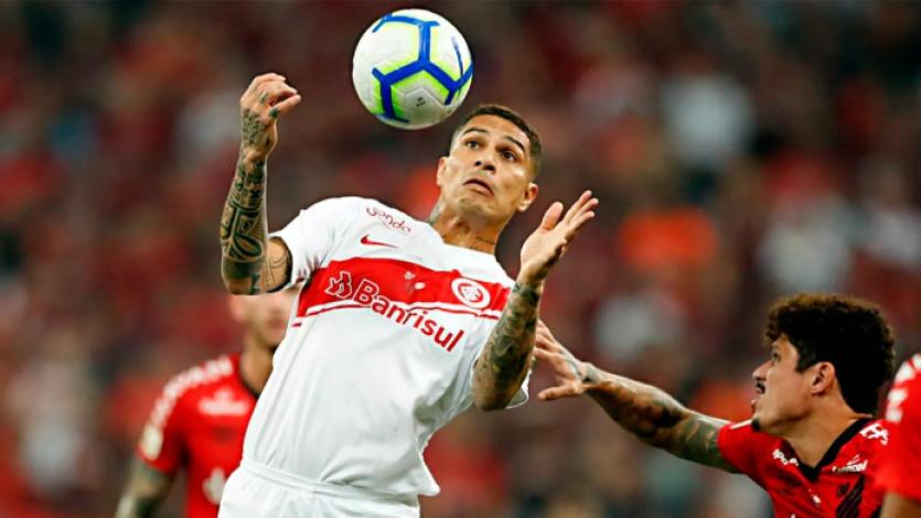 Internacional vs. Atlético Paranaense: con Paolo Guerrero la final de vuelta de la Copa Brasil