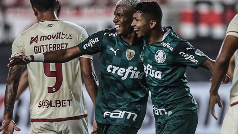 Copa Libertadores: Universitario y la distracción defensiva por la que perdió en el último minuto con Palmeiras (VIDEO)