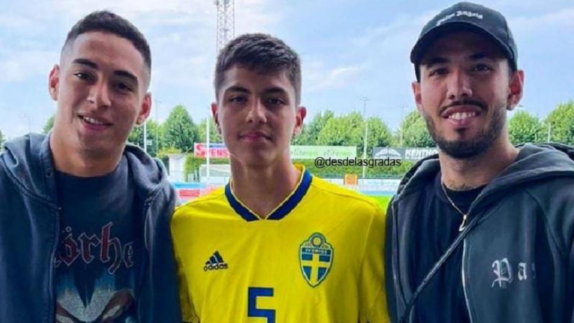 Selección Peruana: ¿quién es el futbolista de Suecia que se fotografió con Sergio Peña?