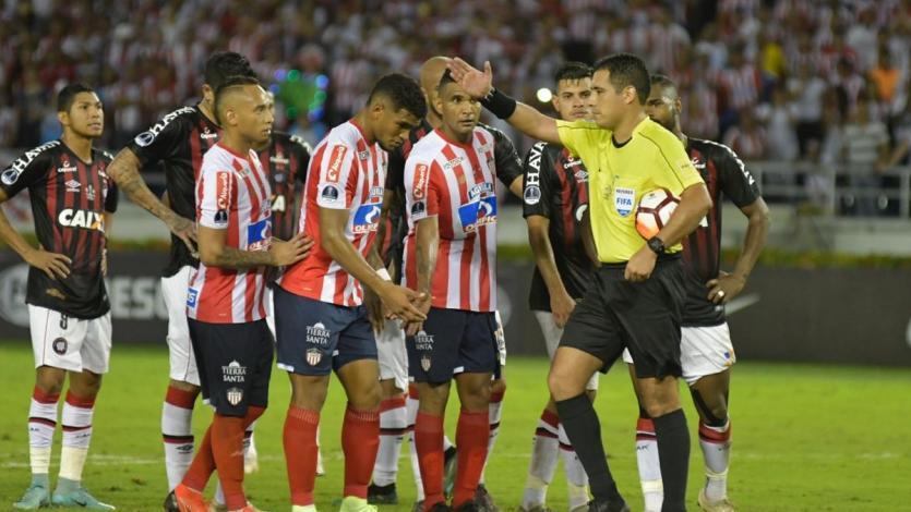 Copa Sudamericana: Junior y Atlético Paranaense igualaron en la final de ida