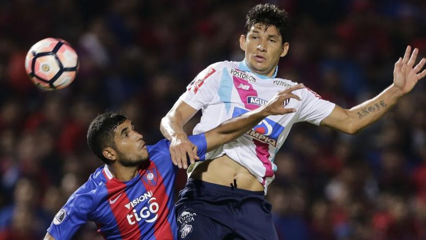 Cerro Porteño y Junior de Barranquilla no se hicieron daño