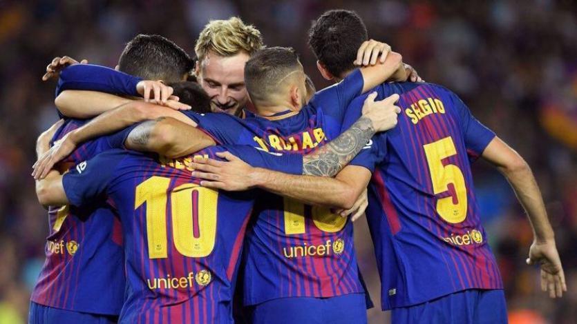 Barcelona golea a la Juventus en el inicio de la Champions League