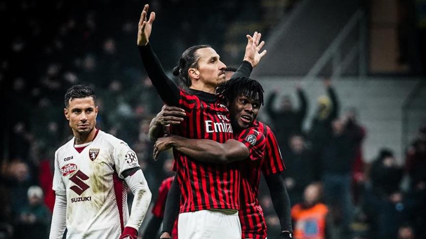Milan sumó su quinta victoria consecutiva de la mano de Zlatan Ibrahimovic
