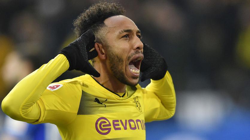Pierre-Emerick Aubameyang habría renovado con el Dortmund hasta 2021